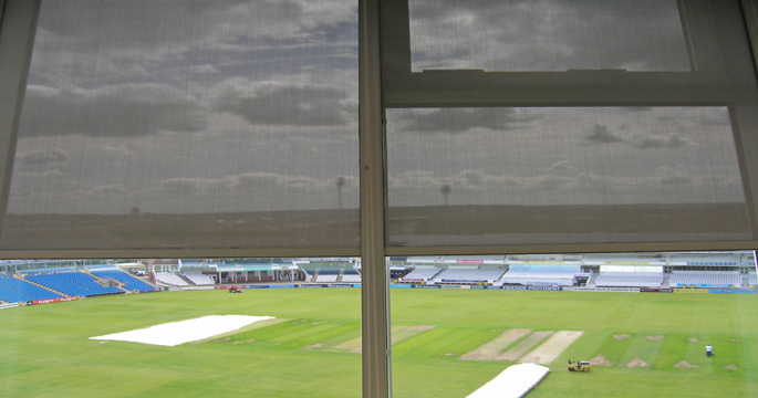 Screen Roller Blinds, Sports Stadium