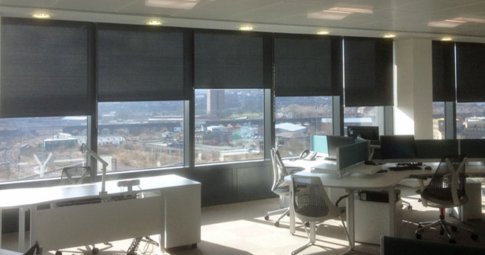 Screen Roller Blinds - Offices