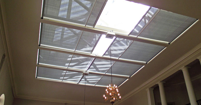 Tensioned Roller Blinds - National Trust