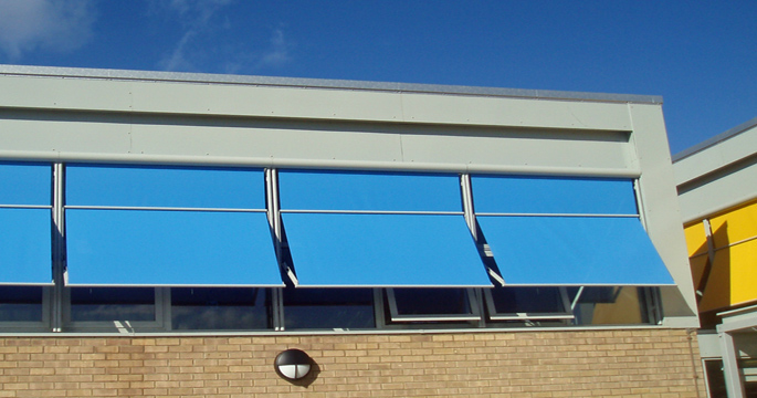 Awnings - School